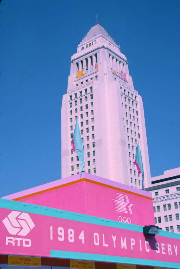 City Hall-LA Olympics