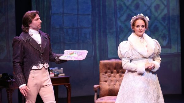 John Cudia and Melissa Errico in On a Clear Day You Can See Forever. Credit: Carol Rosegg