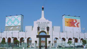 Olympic Gateway- LA Coliseum