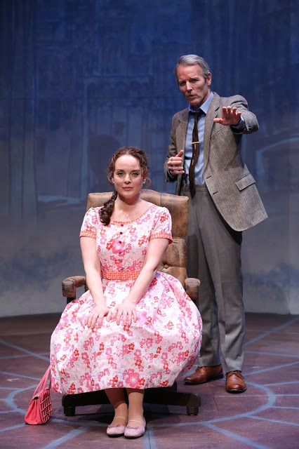 Melissa Errico and Stephen Bogardus in On a Clear Day You Can See Forever. Credit: Carol Rosegg