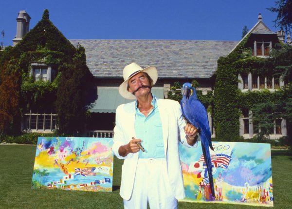 Painter Leroy Neiman