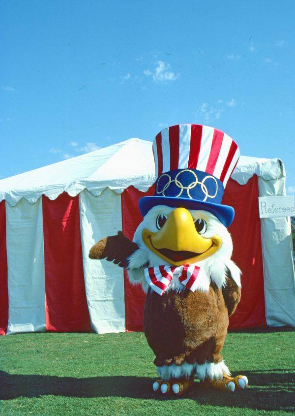Sam the Eagle, Olympic mascot