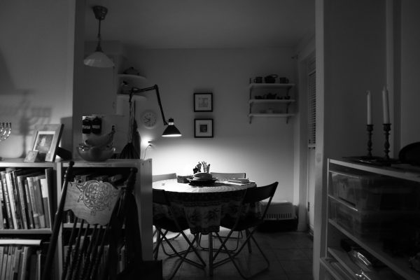 The eating nook