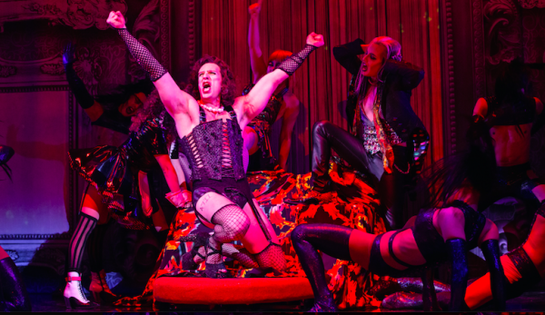 Dan Chameroy and company in The Rocky Horror Show. Credit: Cylla von Tiedemann