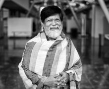 © Christopher Michel. Shahidul Alam at the CatchLight Summit in San Francisco, November 2017.