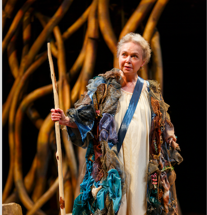 Martha Henry in The Tempest. Credit: David Hou