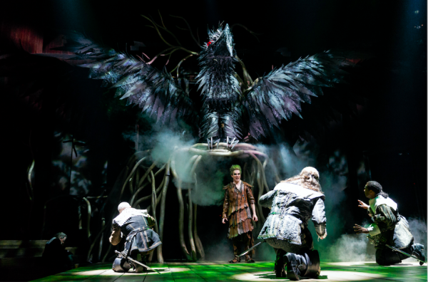 Andre Morin and company members in The Tempest. Credit: David Hou