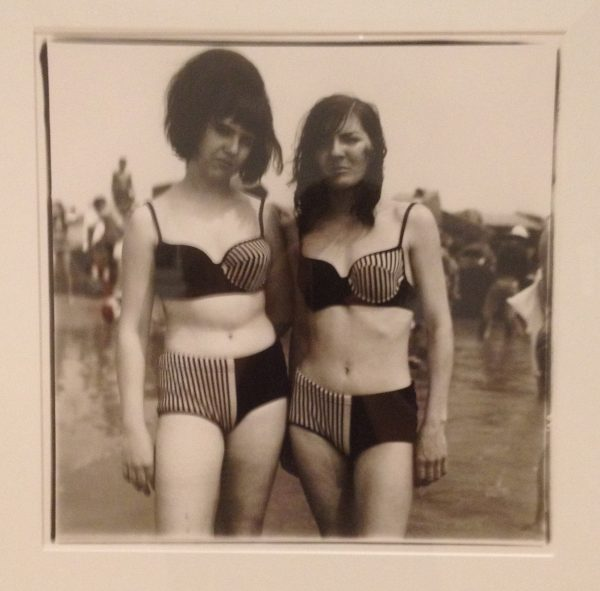 Two girls in matching bathing suits, Coney Island NY © Diane Arbus 1967