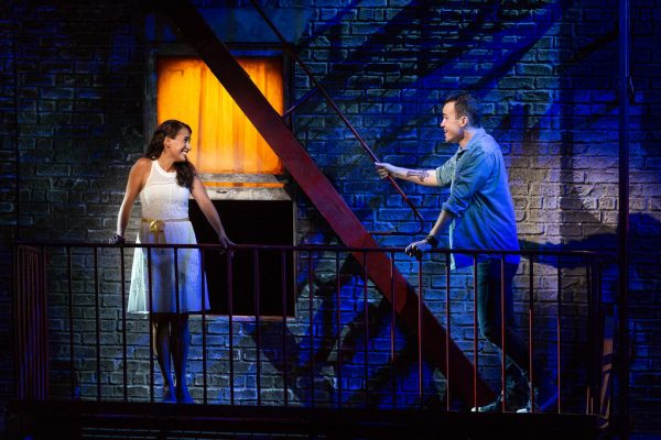 Vanessa Becerra and Joseph Leppek in West Side Story. Credit: Karli Cadel/Glimmerglass Festival
