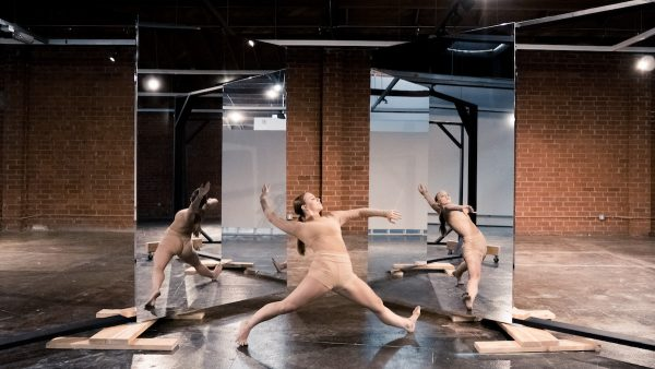 "MashUp Dance Company in ""Expansiveness: Changing perspective. Photo by Erin Cuevas."