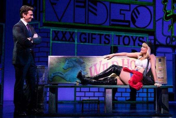 Andy Karl and Samantha Barks in Pretty Woman. Credit: Matthew Murphy