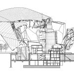 Section - Courtesy of Frank Gehry Partners