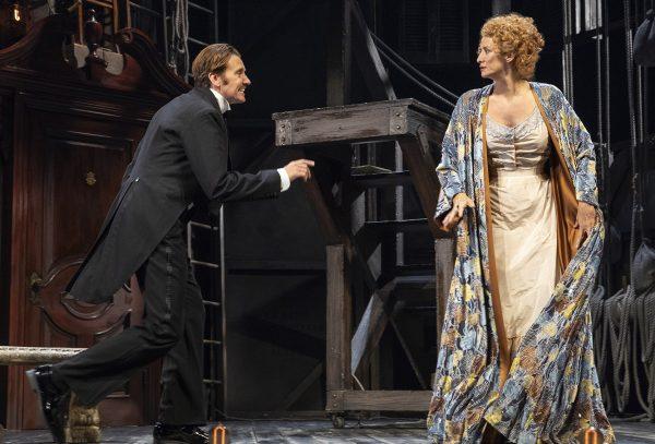 Jason Butler Harner and Janet McTeer in Bernhardt/Hamlet. Credit: Joan Marcus