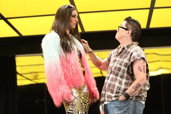 Ana Villafane and Lea DeLaria in Collective Rage: A Play in 5 Betties. Credit: Joan Marcus