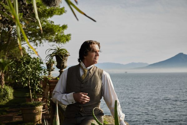 Rupert Everett as Oscar Wilde in Naples. Photo by Wilhelm Moser, Sony Pictures Classics
