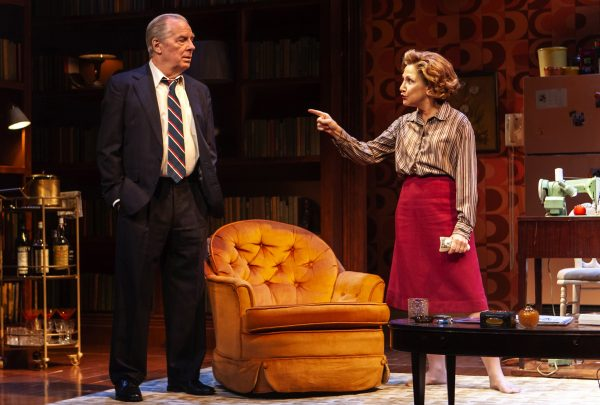 Michael McKean and Edie Falco in The True. Credit: Monique Carboni