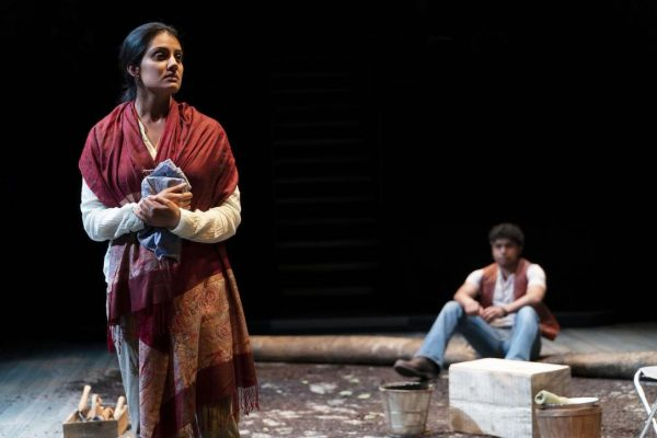 Krysta; Kiran and Andrew Lawrie in The Orchard (After Chekhov) at the Shaw Festival. Credit: David Cooper