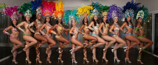 L.A. Samba Dancers. Photo courtesy of LASD.