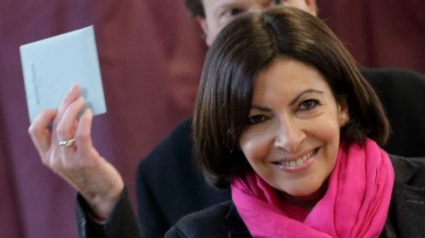 Anne Hidalgo, Paris' first female mayor