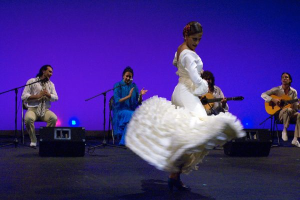 Forever Flamenco's Cihtli Ocampo. Photo by Elazar Harel.
