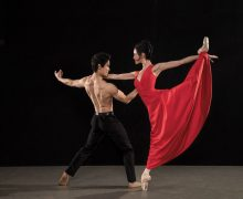 Los Angeles Ballet's Kenta Shimizu & Petra Conti. Photo by Reed Hutchinson.