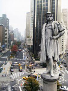 Statue.Columbus Circle