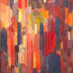Frantisek Kupka, Mademe Kupka dans les veticales (1911)