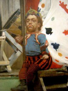 Fernand Pelez, Grimaces et misères: les Saltimbanques (1888) Detail