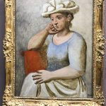 Pablo Picasso, Woman with a White Hat (1921)