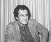 BERNARDO BERTOLUCCI. October 1979. Photo by Sylvia Norris