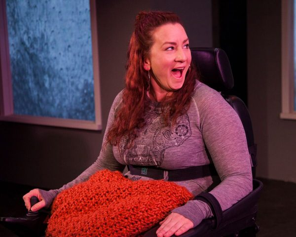 Katy Sullivan in Cost of Living at The Fountain Theatre.