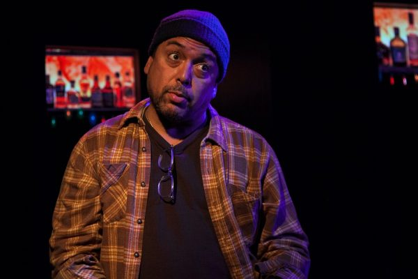 Felix Solis in Cost of Living art The Fountain Theatre.