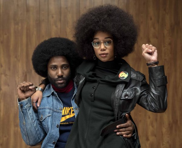 John David Washington, Laura Harrier-BlacKkKlansman © Focus