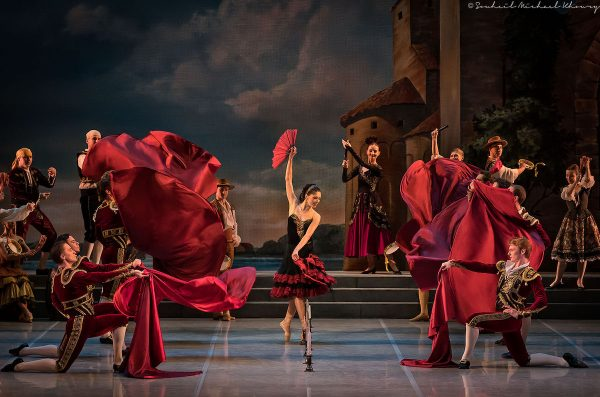 """Mikhailovsky Ballet's """"Don Quixote"""". Photo by Michael Khoury."""