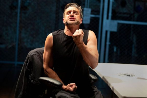Raul Esparza in The Resistible Rise of Arturo Ui. Credit: Joan Marcus
