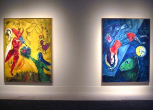Marc Chagall at the Pompidou Center