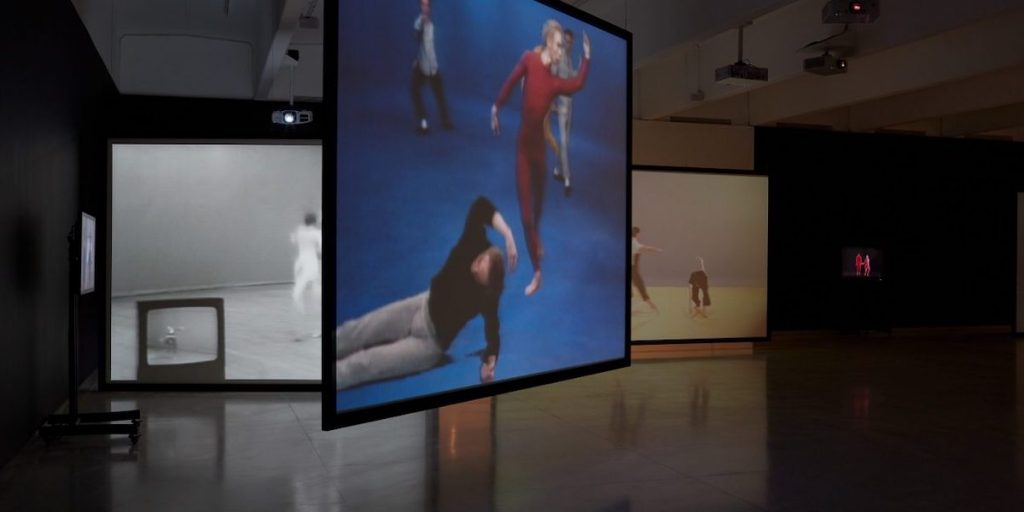 "Merce Cunningham ""Clouds and Screens"". Photo courtesy of LACMA."