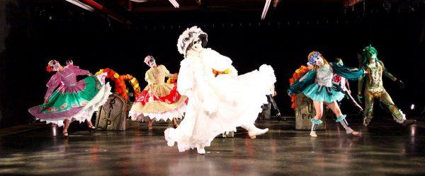 """Danza Floricanto/USA's """"Dia de Los Muertos (Day of the Dead)"""". Photo by Frank Sandoval."""