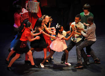 Debbie Allen's Hot Chocolate Nutcracker. Photo courtesy of the artists.