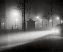 Brassai, Avenue de l'Observatoire in the Fog, c. 1937, Estate Brassai Succession, Paris; (c) Estate Brassai Succession, Paris