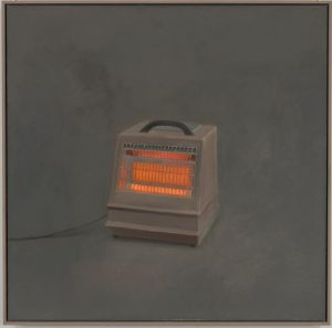 Vija Celmins, Heater, 1964, oil on canvas, Whitney Museum of American Art, New York, purchase with funds from teh Contemporary Painting and Sculpture Committee, (c) Vija Celmins; photo courtesy Matthew Marks Gallery