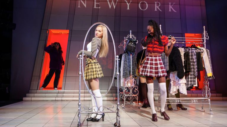 Dove Cameron and Zurin Villlanueva in Clueless. Credit: Monique Carboni