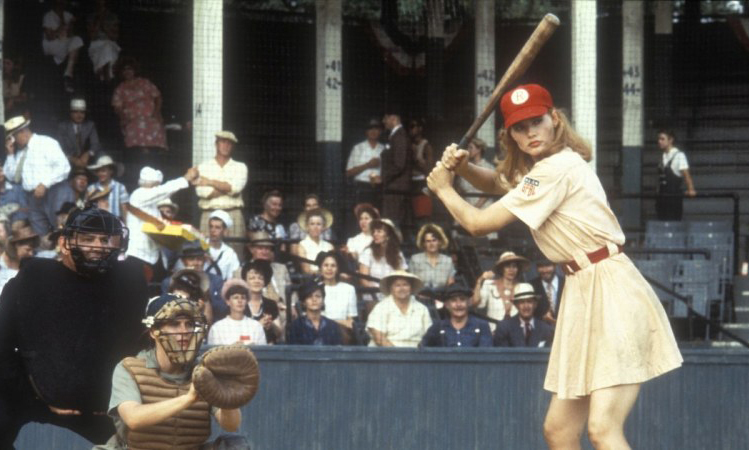 Geena Davis-A League of Their Own © Sony