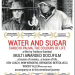 Water and Sugar Poster - Documentary on Carlo Di Palma