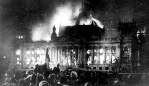 Reichstag burning, 1933