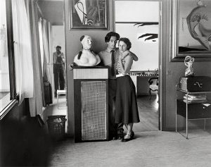 Brassai, Salvador Dali and Gala, Villa Seurat, Paris, 1932-33; (c) Estate Brassai Succession, Paris
