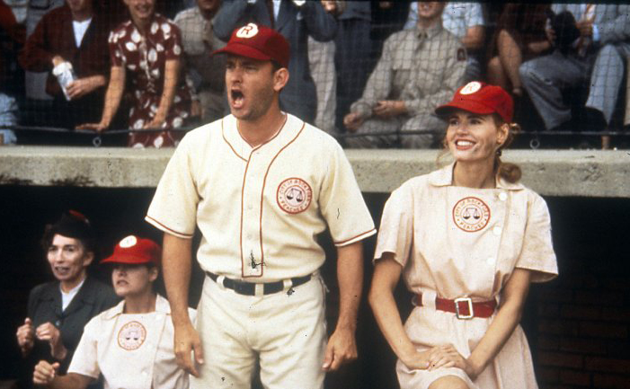 Tom Hanks, Geena Davis-A League of Their Own © Sony