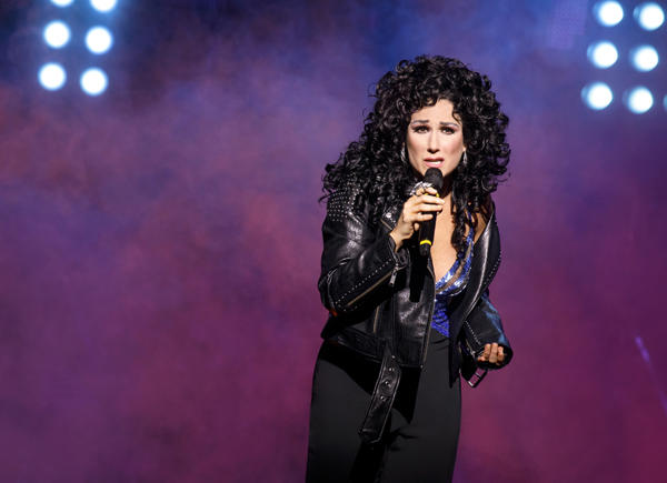 Stephanie J. Block in The Cher Show. Credit: Joan Marcus
