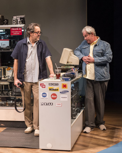 Ian Barford & Troy West in Linda Vista at Center Theatre Group's Mark Taper Forum.
