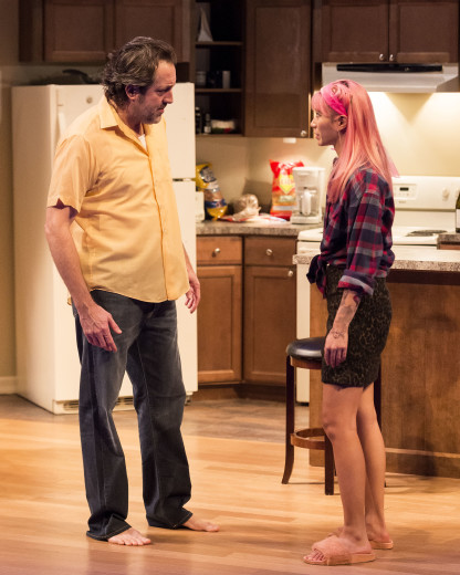 Ian Barford & Chantal Thuy in Linda Vista at Center Theatre Group's Mark Taper Forum.
